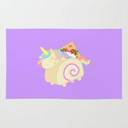 Unicorn - Swiss Roll Cake Rug