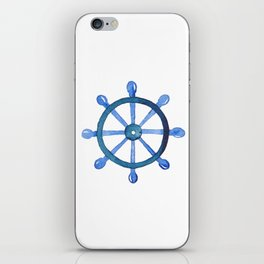 Navigating the seas iPhone Skin