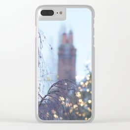 Christmas Lights in Marlow Clear iPhone Case