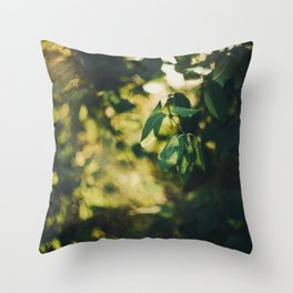 Muted. Throw Pillow