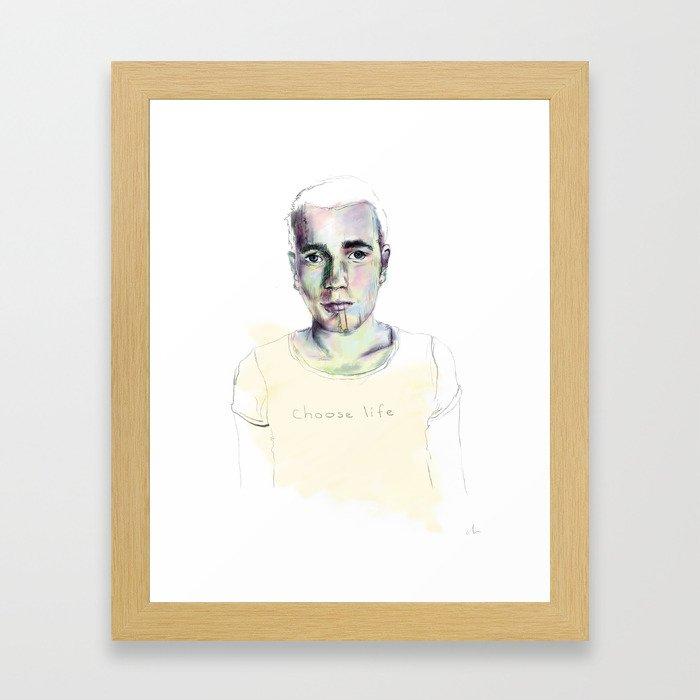 renton. Framed Art Print
