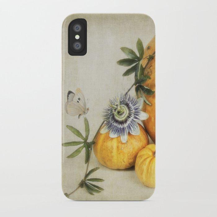 pumpkin & passiflora iPhone Case