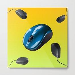PC mousey Metal Print