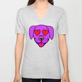 puppy love Unisex V-Neck