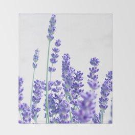 Fresh Lavender #1 #decor #art #society6 Throw Blanket
