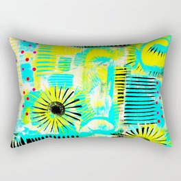 Acid Burst Rectangular Pillow
