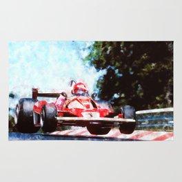 Niki Lauda, Nurburgring Rug
