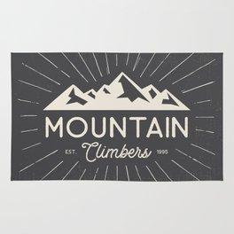 Retro Mountains Rug