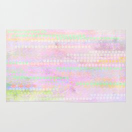 pastel pattern Rug