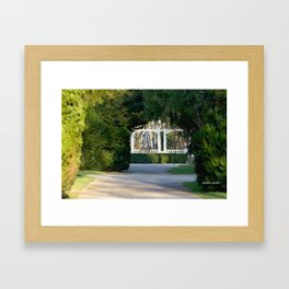 parc de vittel  france  Framed Art Print