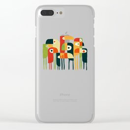 Toucan Clear iPhone Case