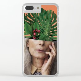 Aging on the outside, more life inside. Clear iPhone Case