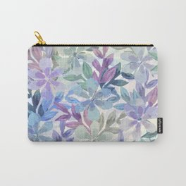 watercolor Botanical garden Carry-All Pouch
