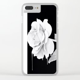 Draining Darkness Clear iPhone Case