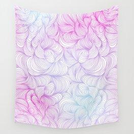 Funky Swirl Pattern Wall Tapestry