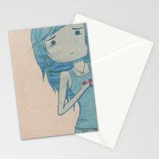 feeling blue Stationery Cards