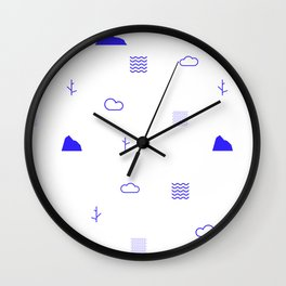 Kapok Wall Clock