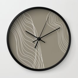 Interrupted Flow Wall Clock