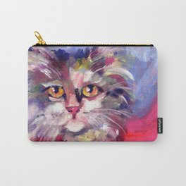 Meow's New Muffler Carry-All Pouch