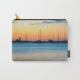 Scituate Lighthouse Silhouette Carry-All Pouch
