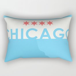 Minimalist Chicago Rectangular Pillow