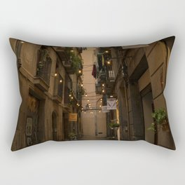 Streets of Spain Rectangular Pillow