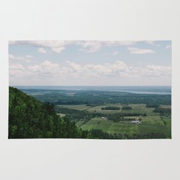 Canadian Mountain Lookout Rug