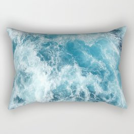 Sea Gurgle - Ocean Waves - Ocean - Beach - Waves Rectangular Pillow
