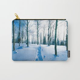 Snowshoeing Adventure Carry-All Pouch