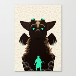 Trico, the last guardian Canvas Print