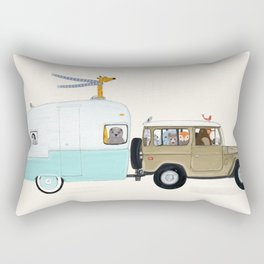 camping trip Rectangular Pillow