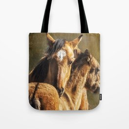 Brotherly Love - Pryor Mustangs Tote Bag