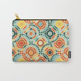 Bauhaus Geometric Carry-All Pouch