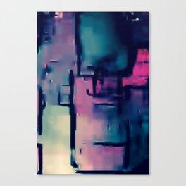 DANA IN THE SKYPE Canvas Print