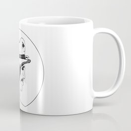 2 Hat Face Coffee Mug
