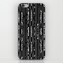 Flowers decomposed iPhone Skin