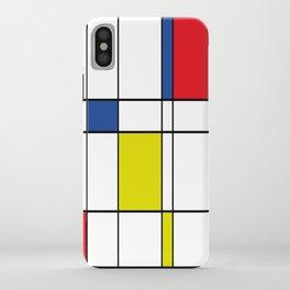 Mondrian 1 iPhone Case