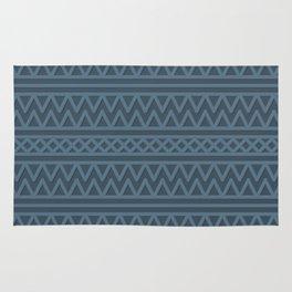 Slate Aztec Style Rug