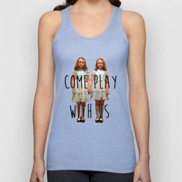 Come play with us Unisex Tank Top