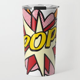 Comic Book Pop Art POP! Travel Mug