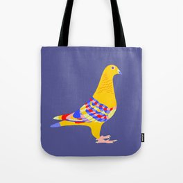 Colombian pigeon Tote Bag