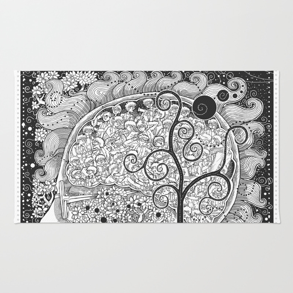 The White Noise Rug by Charbak RUG9010427
