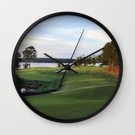 End of Day Wall Clock