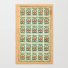 S&H GREEN STAMPS Canvas Print