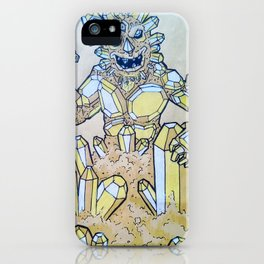 Crystal Monster iPhone Case