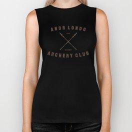 Anor Londo Archery Club Biker Tank