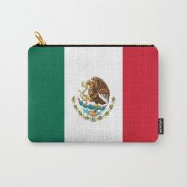 Flag of mexico- mexico,mexico city,mexicano,mexicana,latine,peso,spain,Guadalajara,Monterrey Carry-All Pouch