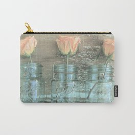 Rose Trio Carry-All Pouch