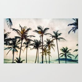 No Palm Trees Rug