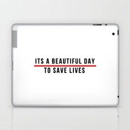 Save Lifes Laptop & iPad Skin